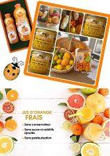 Rappel commandes de jus de fruits…
