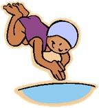 Déjà la piscine pour les élèves de Selvi…